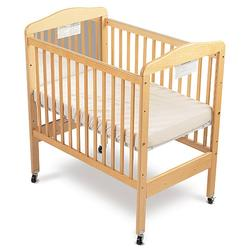Foundations 20-MC-N3 Fixed-Side Mirror Serenity Crib w/ Adjustable Mattress Board