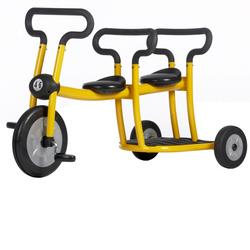 Italtrike Pilot 30015 Tricycle for 2 in Yellow