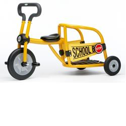 Italtrike 30019SB Yellow School Bus Tricycle