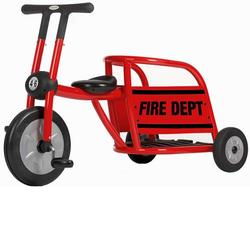 Italtrike Pilot 30019FT Fire Truck  Tricycle - Red