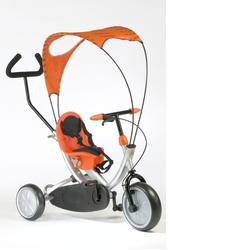 Italtrike - Oko 1509 Ergonomic Tricycle with Shade in Orange