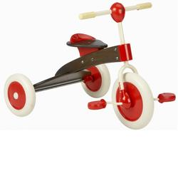Italtrike 0023 ABC Chocolate Wooden Tricycle (Triciclino)