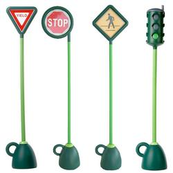 Italtrike 9402C 4 pc Signage Set (Light, Stop, Yield, Crosswalk)