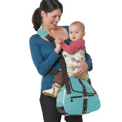 Kemby 001BLUE SideKick Diaper Bag - Blue