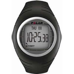 Polar F-4 Heart Rate Monitor, Black Thunder