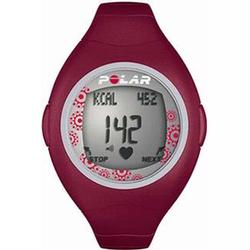 Polar F-4 Heart Rate Monitor, Red Berry