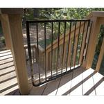 Cardinal Gates SS30ABK Stairway Special Gate - Black