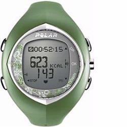 Polar F-6 Heart Rate Monitor, Green Tea