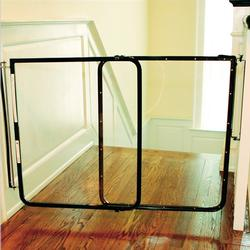 Cardinal Gates CP30BK Clear Safety Gate - Black