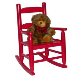 Lipper International  Child's Rocking Chair 555R - Red