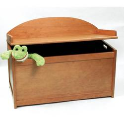 Lipper  Toy Chest 598P - Pecan Finish