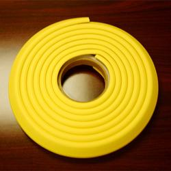 Cardinal Gates EC12Y 12' Kids Edge Cushion Roll in Poly Bag - Yellow