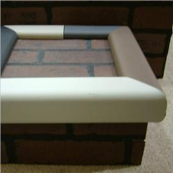 Cardinal Gates SPKXG 4 Feet of Hearth Padding - Gray