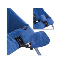"Columbia Medical 2018B Swing Away Abductor for use w/2.5"" seat extender Model #2025 - Blue"
