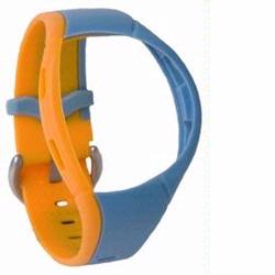 Mio 6601 Heart Rate Monitor Strap, Sky Blue-Orange