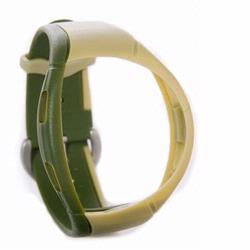 Mio 6602 Heart Rate Monitor Strap, Beige-Forest Green