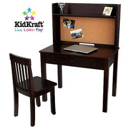 KidKraft 27150 Pinboard Desk with Hutch & Chair