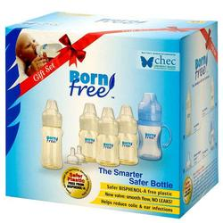 Born Free 50001 Smart Start Sterilizer BPA Free 6-Piece Gift Set
