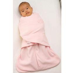 Halo 907 Micro Fleece SleepSack Swaddle - Soft Pink/Small