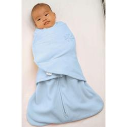 Halo 292 Micro Fleece SleepSack Swaddle - Baby Blue/Newborn