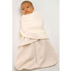 Halo 908 Micro Fleece SleepSack Swaddle - Cream/Small