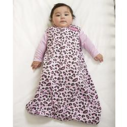 Halo 750 100% Cotton SleepSack Wearable Blanket - Pink Leopard/Large