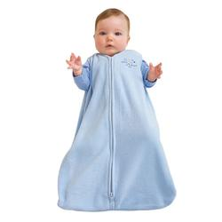 Halo 042 Micro Fleece SleepSack Wearable Blanket - Baby Blue/Large