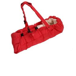 Lillebaby L1103-1 Euro Tote - Red Haute Momma- Red/Cream