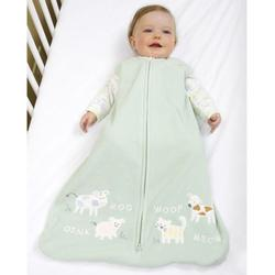 Halo 895 Applique Micro Fleece SleepSack Wearable Blanket - Sage Barnyard/Medium