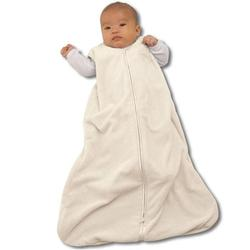 Halo 317 Deluxe Velboa SleepSack Wearable Blanket - Cream/Small