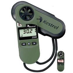 Kestrel 2500NV Pocket Weather Meter - Olive Drab