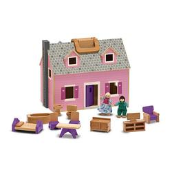 Melissa & Doug 3701 Fold & Go Mini Dollhouse