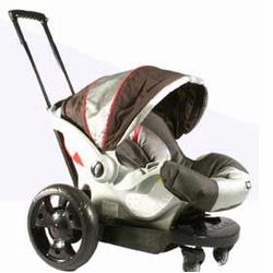 GoGo Babyz Infant Cruizer, for Graco SnugRide or SafeSeat