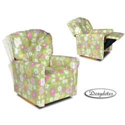 Dozydotes 10556 Classic 7 Button Children's Recliner - Ellies Garden