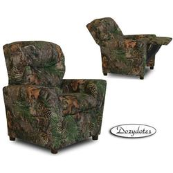 Dozydotes 9755 Children's Recliner with Cup Holder - Camouflage