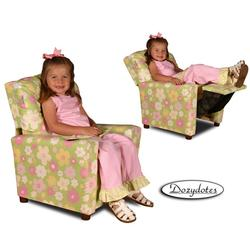 Dozydotes 10574 Children's Recliner with Cup Holder - Ellies Garden
