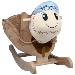 Rockabye 85021 Homer Baseball Rocking Toy