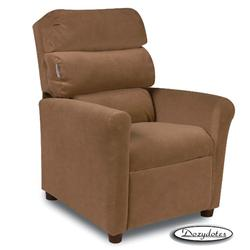 Dozydotes 10183 Micro-Suede Waterfall Children's Recliner - Tumbleweed