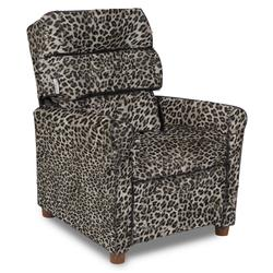 Dozydotes 10919 Waterfall Children's Recliner - Snow Leopard