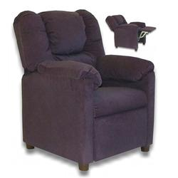 Dozydotes 10176 Micro Suede Stratolounger Children's Recliner - Glamorous Grape