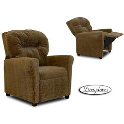 Dozydotes 10168 Contemporary Childrens Recliner - Hot Chocolate