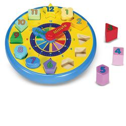 Melissa & Doug 0159 Shape Sorting Clock