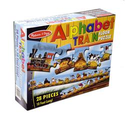 Melissa & Doug 0424 Alphabet Train Floor (28 pc)