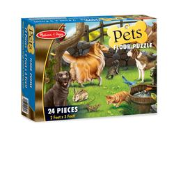 Melissa & Doug 0430 Pets Floor (24 pc)
