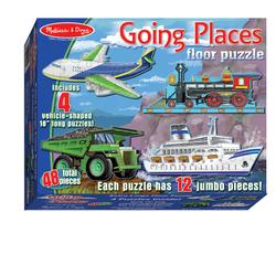 Melissa & Doug 0432 Going Places Floor (48 pc)
