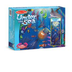 Melissa & Doug 0443 Under the Sea Floor (100 pc)