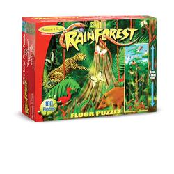 Melissa & Doug 0444 Rain Forest Floor (100 pc)