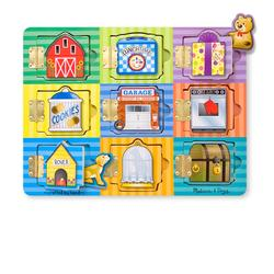 Melissa & Doug 0474 Magnetic Hide & Seek Board
