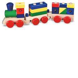 Melissa & Doug 0572 Stacking Train
