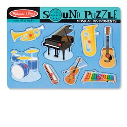 Melissa & Doug 0732 Musical Instruments Sound Puzzle